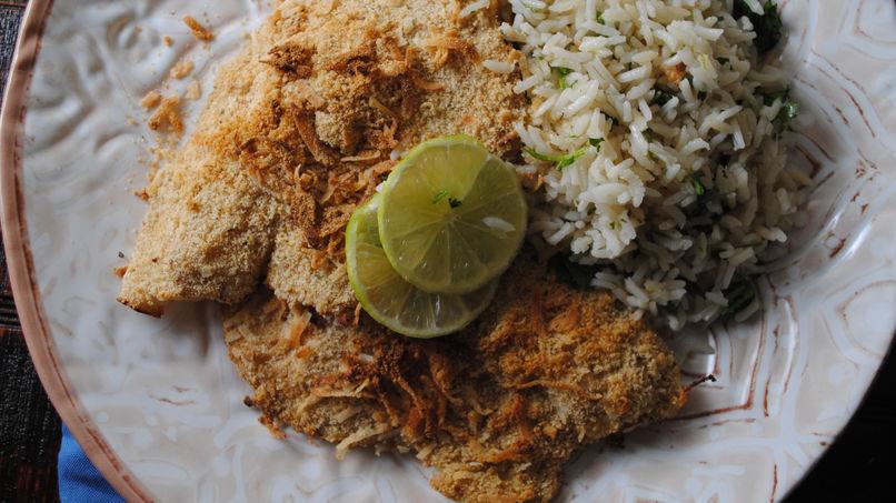 Crispy Coconut Mojarra