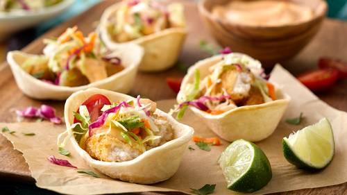 Mini Fish Taco BoatsTM Recipe