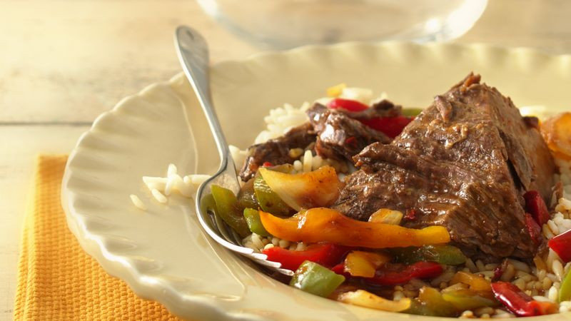 Slow-Cooker Ginger Beef Roast