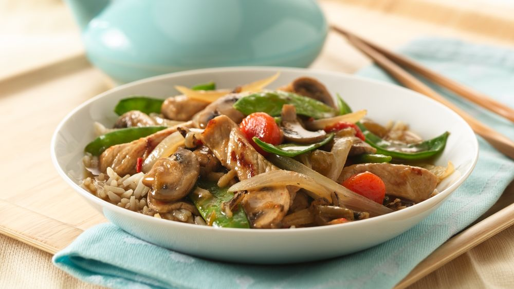 Asian Pork and Vegetable Stir-Fry