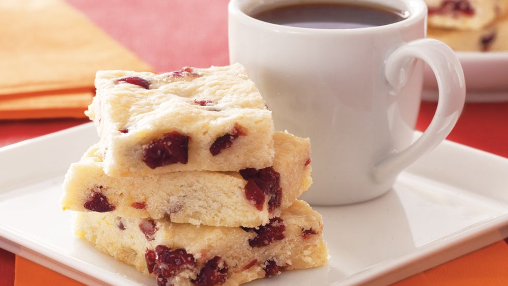 Cranberry-Orange Shortbread