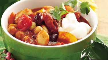 Three-Bean Christmas Chili