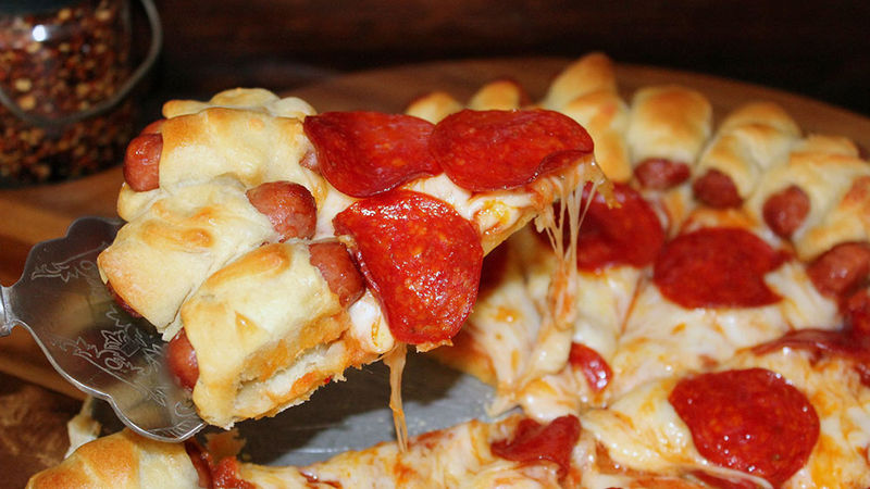 Crescent Dog Pizza