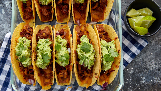 Easy Oven-Baked Beef Tacos