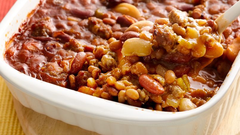 Three-Bean Casserole