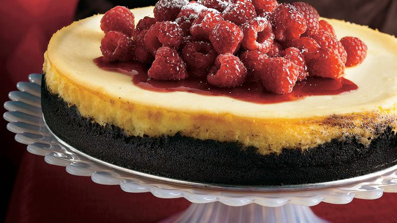 White Chocolate-Raspberry Cheesecake