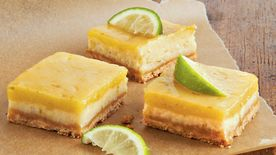 White Chocolate-Key Lime Cheesecake Squares
