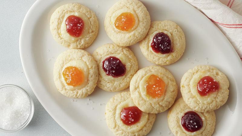Easy Kolaczki Cookies