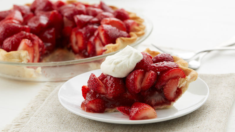 Easy Strawberry Pie Recipe Pillsbury Com