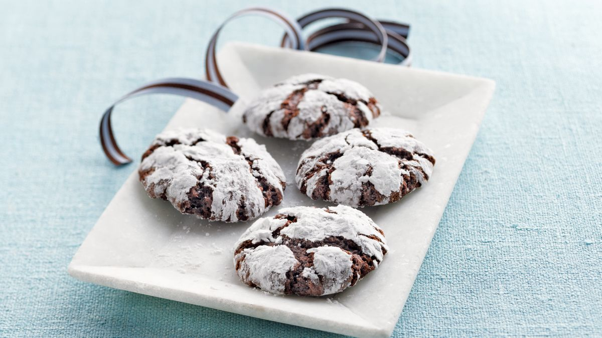 Chocolate Crinkle Cookie Recipes - BettyCrocker.com