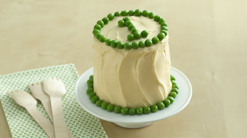 Peas and Carrots Smash Cake Recipe BettyCrockercom