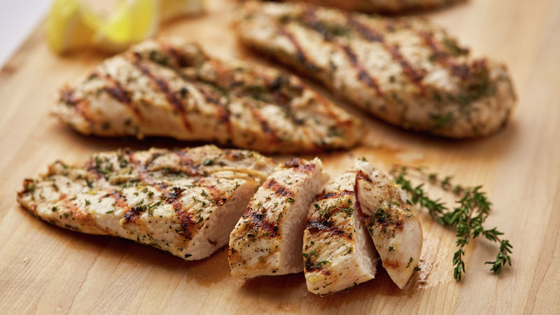Easy Grilled Chicken Breasts