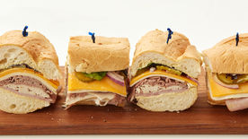 The Ultimate Three-Meat Picnic Sandwich