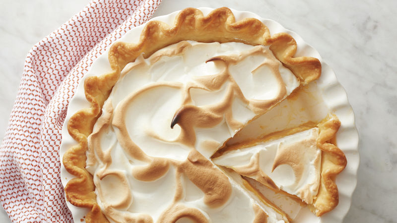 Butterscotch Silk Pie