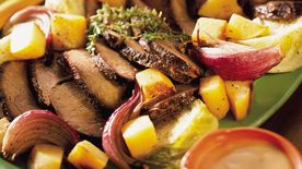 Rump Roast with Winter Vegetables
