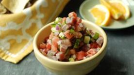 Watermelon Tuna Ceviche