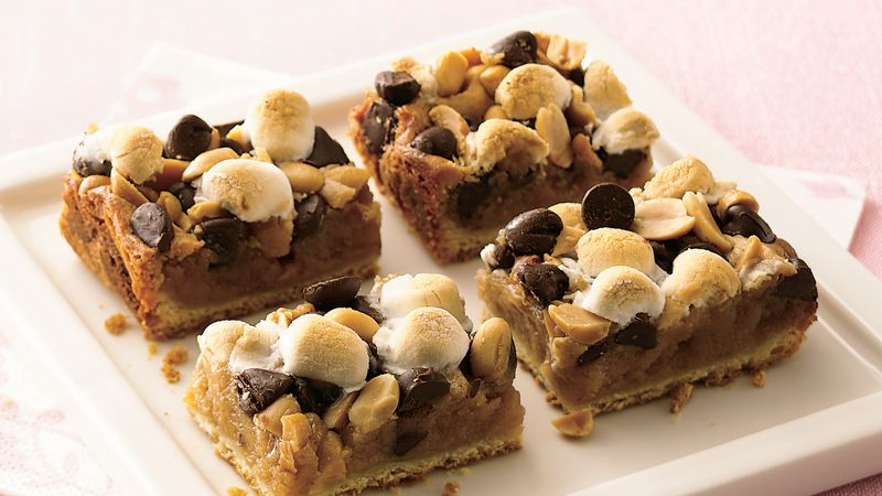 Rocky Road Crescent Bars