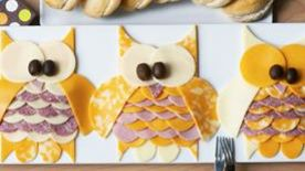 Owl Meat & Cheese Tray