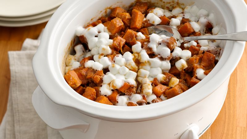 Slow Cooker Sweet Potato Casserole Recipe Pillsburycom