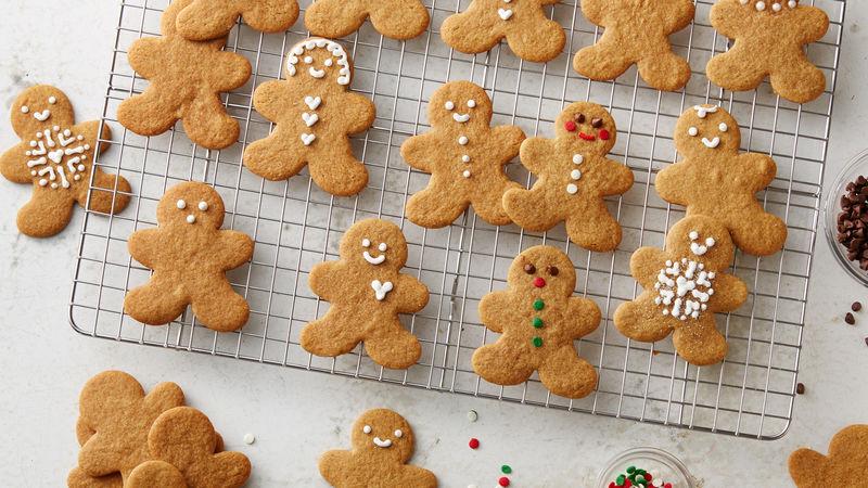 Gingerbread Men Cookies Recipe - BettyCrocker.com