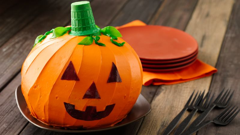 Jack O Lantern Cake Recipe Tablespoon Com