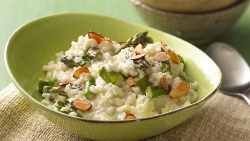 Risotto with Asparagus and Almonds