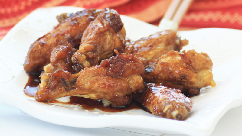 Citrus Soy Glazed Wings