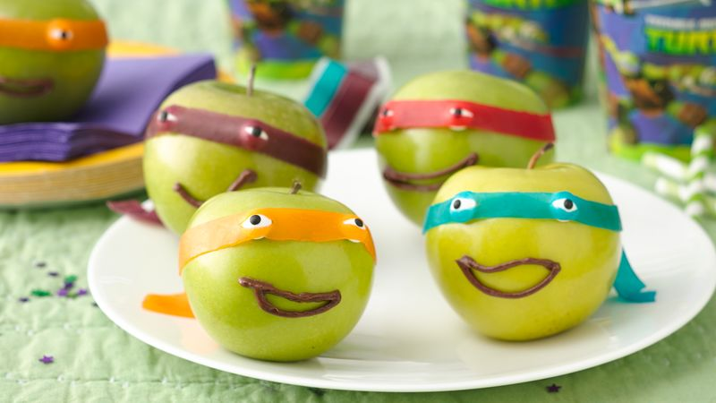 Masked Ninja Apples