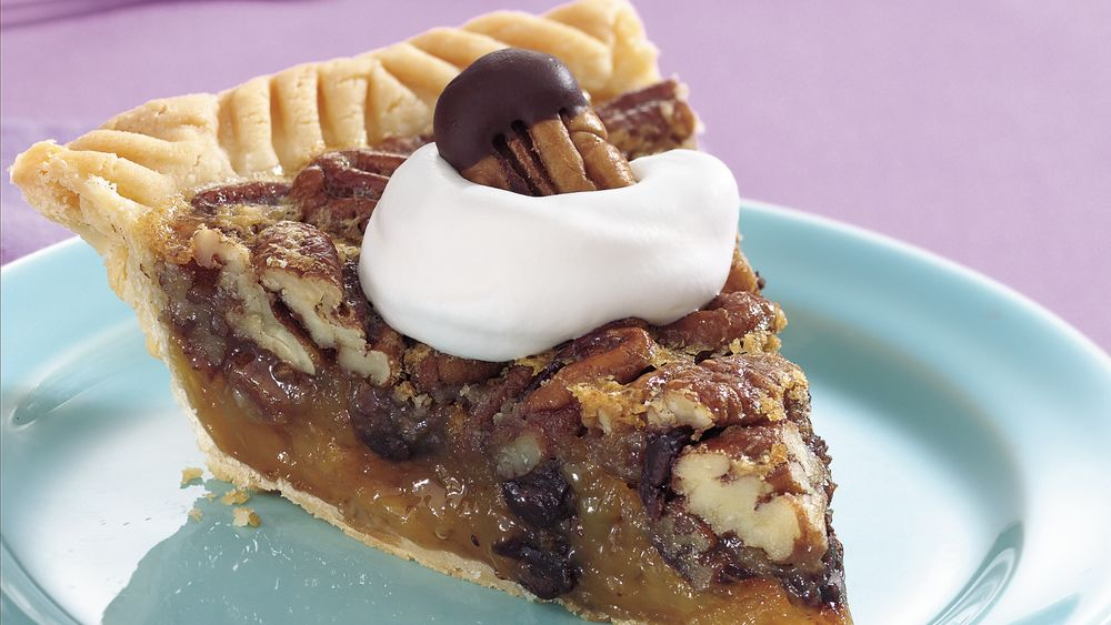 Chocolate Rum Pecan Pie Recipe