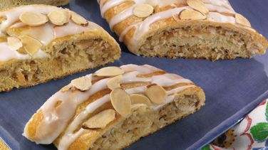 Crescent Coconut Almond Twist