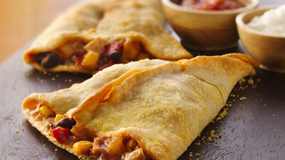 Chicken Empanada Cones