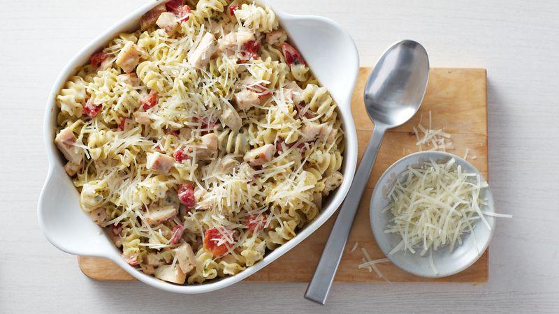 Creamy Pesto-Chicken Casserole