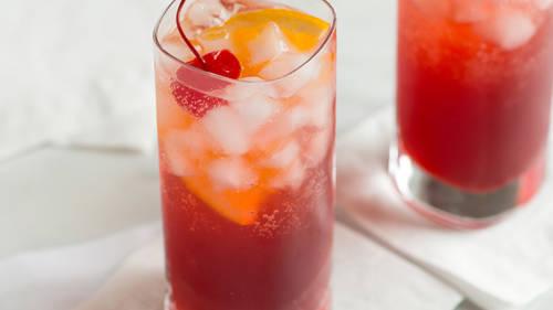 Sloe Gin Fizz image