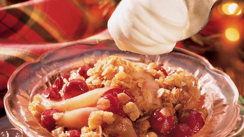 Pear-Cranberry Crisp recipe from Pillsbury.com