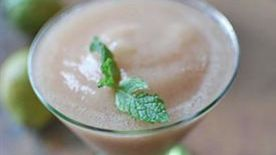 Frozen Guava Mint Daiquiri