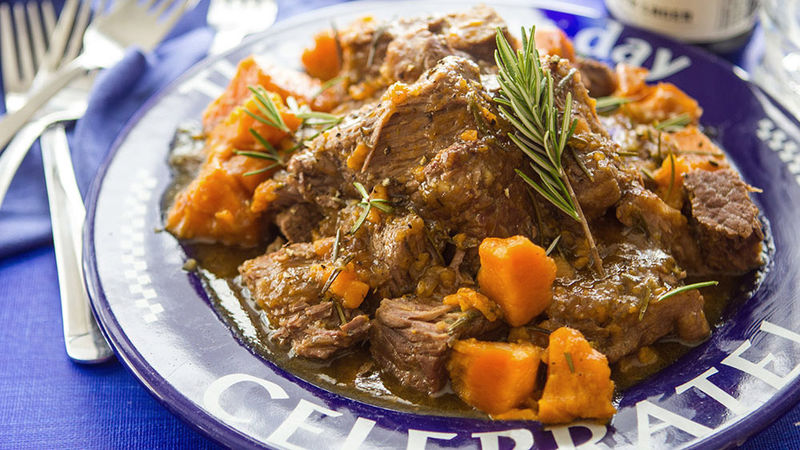 Slow-Cooker Beer-Braised Pot Roast