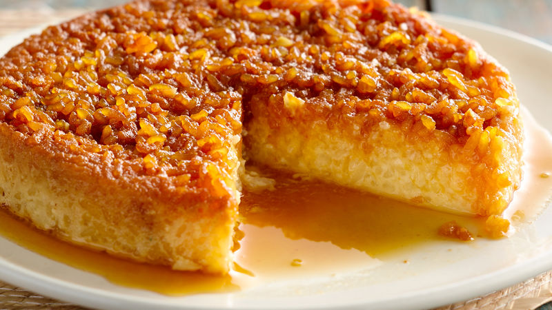 Rice Pudding Flan