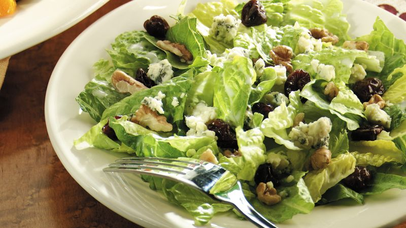 Dried Cherry, Walnut and Gorgonzola Salad