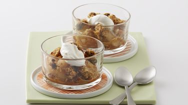 Oatmeal Raisin Apple Crisp