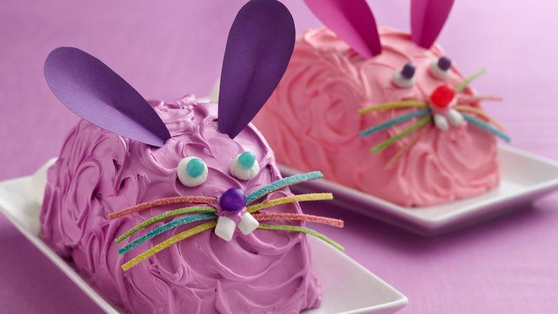 Pastel de conejo fácil