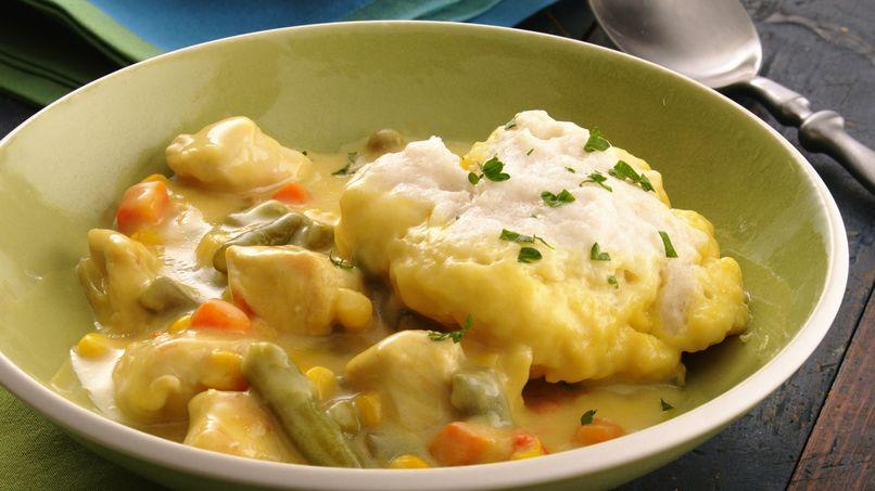 Estofado de Pollo con Mostaza y Pan