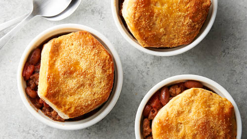 Mini Chili Pot Pies