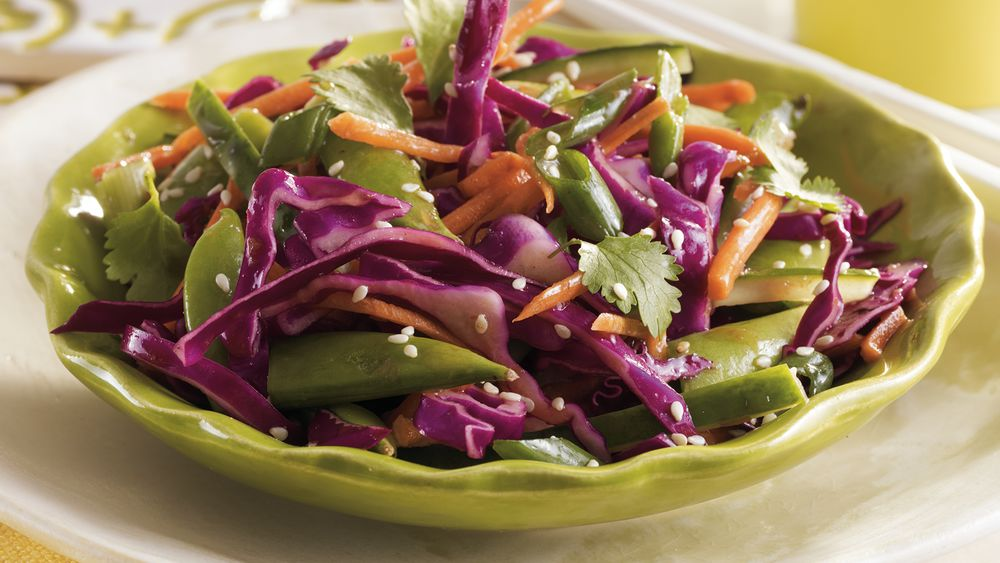 Crunchy Asian Vegetable Salad