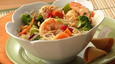 Sesame Stir-Fry Shrimp Salad