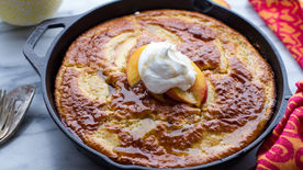 Make-Ahead Peach Breakfast Bake