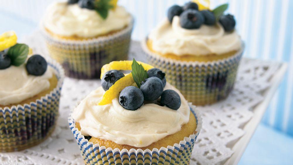 Lemon-Blueberry Cupcakes