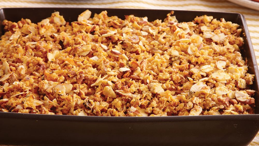 Nutty Sweet Potato Casserole