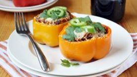 Chorizo-Stuffed Bell Peppers