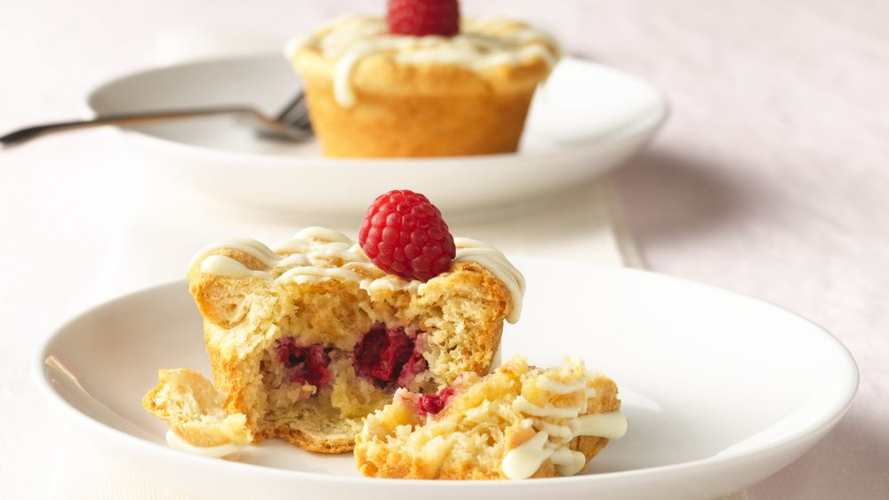 White Chocolate Raspberry Dessert Cups Recipe From
