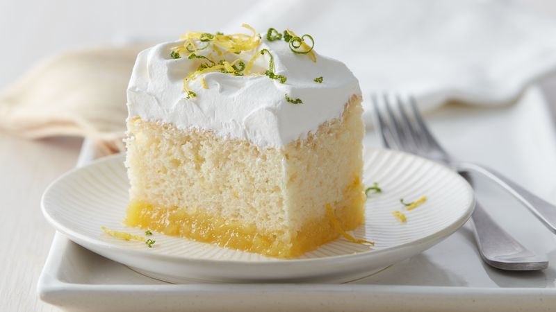 Betty Crocker Lemon Poke Cake